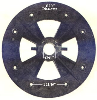 Flywheels - ceiling fans
